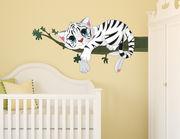 Wandtattoo Vik der weiße Tiger