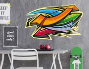 Wandtattoo Graffiti Pfeile