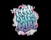 Wandtattoo Good Vibes Only - Graffiti Lieferansicht
