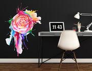 Wandtattoo Watercolor Rose