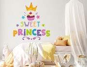 Wandtattoo Sweet Princess Cupcake