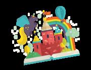 Wandtattoo The Magic Book Lieferansicht