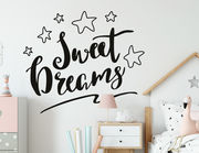 Wandtattoo Sweet Dreams Lettering