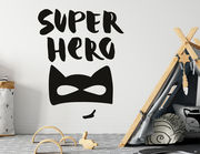 Wandtattoo Super Hero Lettering