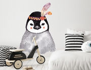 Wandtattoo Pinguin Baby Melody