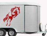 Autoaufkleber Pferd Gobelin
