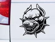 Autoaufkleber Pit Bull Champ