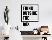 Wandtattoo Think outside the Box