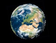 Lieferansicht Wandtattoo Planet Earth