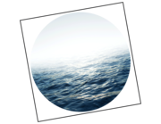 Lieferansicht Wandtattoo Blaues Meer