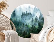 Wandtattoo Im Nebelwald