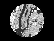 Lieferansicht Wandtattoo New York City Map