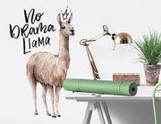 Wandtattoo No Drama Llama