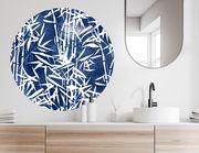 Wandtattoo Blue Bamboo