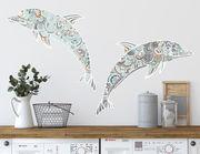 Wandtattoo Delphine Zentangle-Style