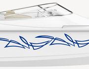 Bootsaufkleber Pinstripe-Set Sama