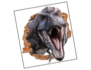 Lieferansicht 3D Wandtattoo Dino Power