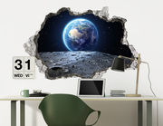 3D Wandtattoo Mondspaziergang
