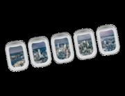 Lieferansicht 3D Wandtattoo New York Air
