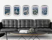 3D Wandtattoo New York Air