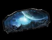 Lieferansicht 3D Wandtattoo Space Discovery