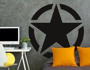 Wandtattoo Army Star