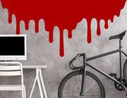 Wandtattoo Dripping Blood