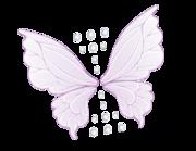 Lieferansicht Wandtattoo Magic Wings & Diamonds
