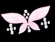 Lieferansicht Wandtattoo Fairy Wings & Diamonds
