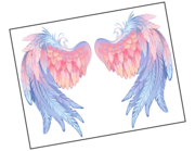 Lieferansicht Wandtattoo Angel Dream