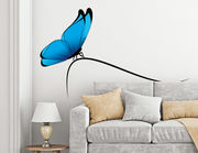 Wandtattoo Papillon Bleu