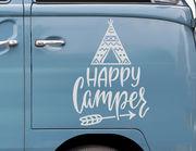 Autoaufkleber Happy Camper