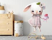 Wandtattoo Bunny Girl Candy