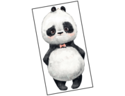 Lieferansicht Wandtattoo Panda Boy Jinjin