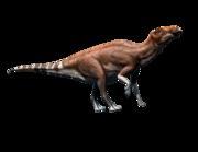 Lieferansicht Wandtattoo Brachylophosaurus