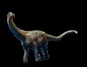 Lieferansicht Wandtattoo Brontosaurus