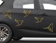 Autoaufkleber Little Birds-Set