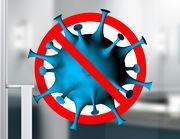 Wandtattoo 3D Coronavirus