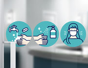Wandtattoo Hygiene Illustration