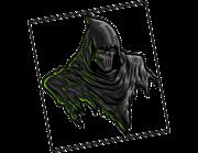 Lieferansicht Wandtattoo Masked Reaper