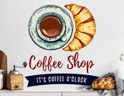 Wandtattoo It's Coffee o' Clock