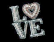 Lieferansicht Wandtattoo Love in Letters
