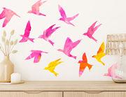Wandtattoo Color Fantasy Birds