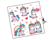 Lieferansicht Wandtattoo Sweet Unicorn Teenies