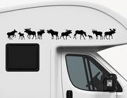 Autoaufkleber Charmy Moose