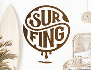 Wandtattoo Surfing Emblem