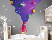 Wandtattoo Space Man's Galaxy