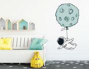 Wandtattoo Astronaut Arthur's Mondballon