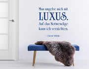 Wandtattoo Umgeben von Luxus