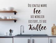 Wandtattoo Die KafFee